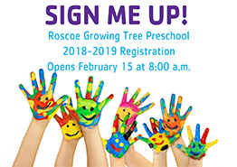 2018 Preschool Registration